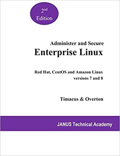 Administer and Secure Enterprise Linux