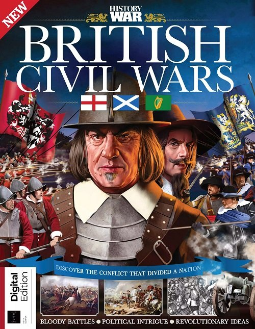History Of War Book Of The British Civil Wars - 5th Edition 2021